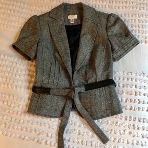 Ann Taylor Loft Short Sleeve Wool Shell NEW 4P